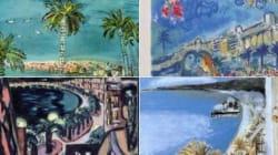 Les plus belles peintures de la Baie des Anges partagées pour se souvenir de la beauté éternelle de