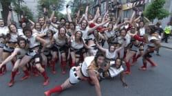 Montréal complètement cirque: Un musicien parmi les acrobates