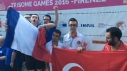Déjà trois médailles d'or pour les athlètes français aux Trisome