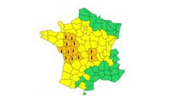 L'alerte canicule s'étend à 12 départements du centre et de