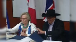 Ottawa Settles With Blood Tribe After 75