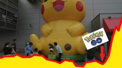Grâce à Pokémon Go, Nintendo prend 120% en bourse et dépasse
