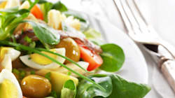 En l'honneur de ma ville de coeur qui a besoin d'amour, la recette de la vraie salade