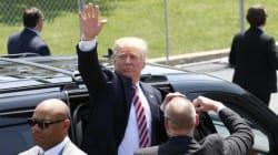 Donald Trump, retour en fanfare à