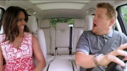Quand Michelle Obama chante Stevie Wonder en voiture