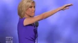 El polémico gesto de una mujer en la Convención Nacional