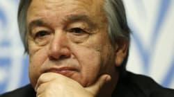 Un Portugais en tête du scrutin pour succéder à Ban Ki-Moon à