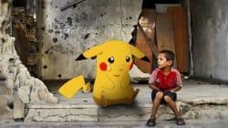 ポケモンGOを使って、シリアの子供たちは世界に訴える 「助けに来て」