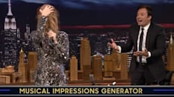 Céline Dion qui «twerke» et qui imite drôlement Sia avec Jimmy Fallon!