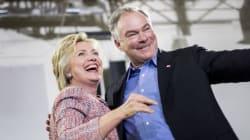 Et le colistier d'Hillary Clinton