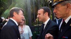 Que fait Emmanuel Macron à Nice avec Christian