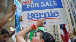 Bernie Sanders en vedette d'un début de convention démocrate chahuté