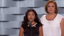 Le discours de cette fille de clandestins a ému toute la convention