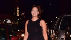 Ashley Graham met ses courbes en valeur dans une petite robe