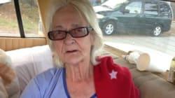 Sans-abri à 82 ans, elle habite dans sa
