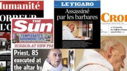 La presse française et internationale horrifiée au lendemain de
