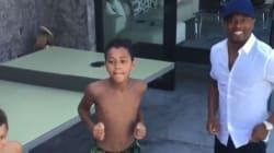 Quand Patrice Evra apprend l'arrivée de Gonzalo Higuain à la