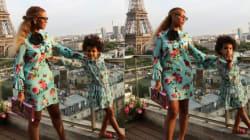 Beyoncé et Blue Ivy craquantes en tenues assorties
