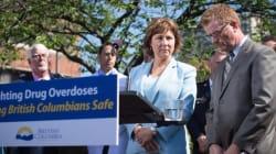 B.C. Premier Calls For Federal Help As Drug Overdose Deaths