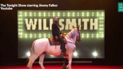 Quand Will Smith est invité chez Jimmy Fallon, il soigne son