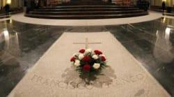 El PSOE pide que Franco sea exhumado