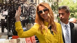 Celine Dion Wears The Perfect Retro-Inspired