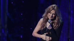 Céline Dion généreuse et émotive au Centre Bell