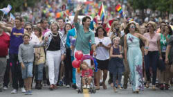 Trudeau Becomes First PM To March In Vancouver Pride