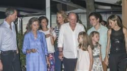 Primer día de vacaciones de la Familia Real en Mallorca: cena al