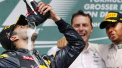 Ce pilote de F1 a célébré son podium de façon un peu