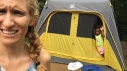 Tranche de vie: Le camping, pu