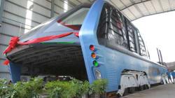 Le «bus du futur», trop beau pour être
