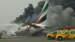Les 300 occupants d'un avion réchappent à un accident