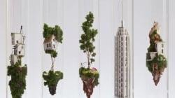 Ces étonnantes maisons miniatures tiennent dans des tubes à