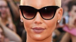 You Won't Recognize Amber Rose As A Long-Haired