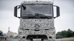 Mercedes-Benz présente un poids lourd 100 % électrique