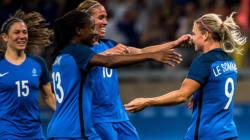 Les 4 buts de la victoire des Bleues contre la Colombie aux