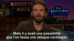 Bradley Cooper aurait bien aimé se faire taser pour de vrai dans