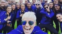 Popularité, égalité salariale, sexualité assumée... l'équipe américaine de foot féminin a bien des choses à nous