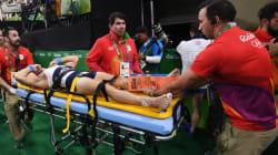 La grave blessure d'un gymnaste français aux