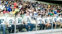 Censura na Olimpíada: Torcedores gritam 'Fora, Temer' e são expulsos no Rio e em