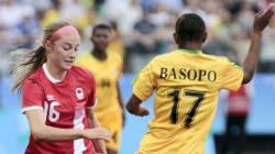 Soccer féminin: Les Canadiennes l'emportent facilement sur le