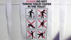 Les règles délirantes des toilettes des JO ont encore