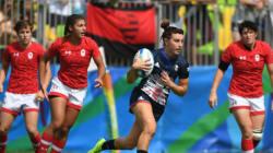 Premier revers (cuisant) pour les Canadiennes au rugby à