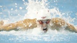Ce nageur olympique a un drôle de rituel avant chaque