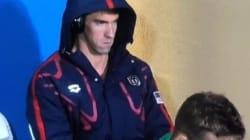 La phase de concentration de Michael Phelps n'est pas passée