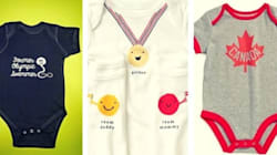18 Adorable Olympic Baby Onesies That Will Win Your