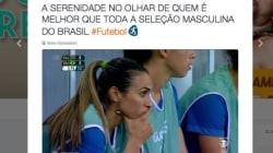 Até o 0 a 0 da Seleção Feminina é bem mais emocionante que o da Seleção