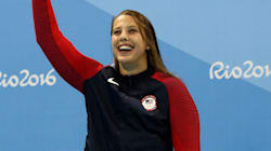 Swimmer Kathleen Baker Lost Pearl Earring In Pool; Diver Saves