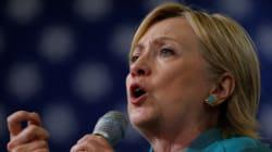 Clinton estime que Trump a «dépassé les
